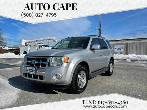 2010 Ford Escape for sale at Auto Cape in Hyannis MA