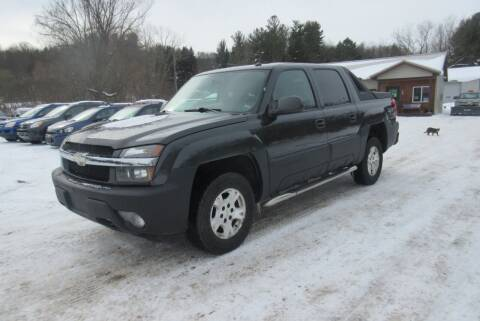 2005 Chevrolet Avalanche for sale at Clearwater Motor Car in Jamestown NY