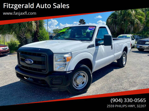 2012 Ford F-250 Super Duty for sale at Fitzgerald Auto Sales in Jacksonville FL