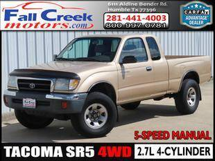 1999 Toyota Tacoma for sale at Fall Creek Motor Cars in Humble TX