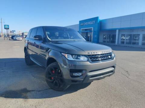 2017 Land Rover Range Rover Sport for sale at Rocky Mountain Commercial Trucks in Casper WY