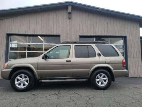 2003 Nissan Pathfinder for sale at Westside Motors in Mount Vernon WA