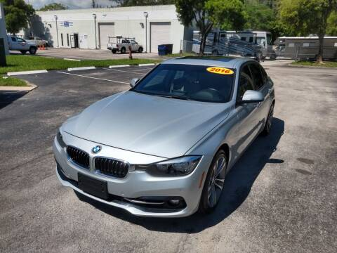 2016 BMW 3 Series for sale at Best Price Car Dealer in Hallandale Beach FL