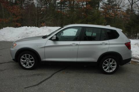 2011 BMW X3 for sale at Bruce H Richardson Auto Sales in Windham NH