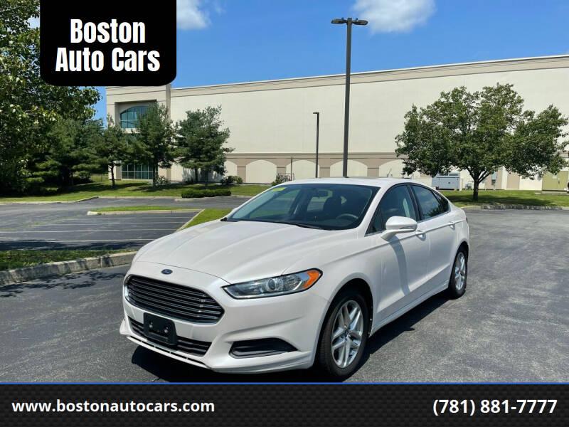 2013 Ford Fusion for sale at Boston Auto Cars in Dedham MA