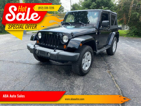 2007 Jeep Wrangler for sale at ABA Auto Sales in Bloomington IN