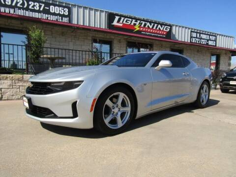 2019 Chevrolet Camaro for sale at Lightning Motorsports in Grand Prairie TX