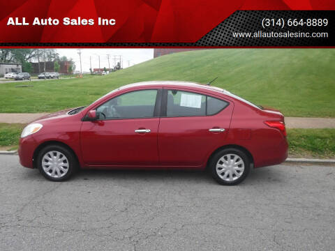 2012 Nissan Versa for sale at ALL Auto Sales Inc in Saint Louis MO