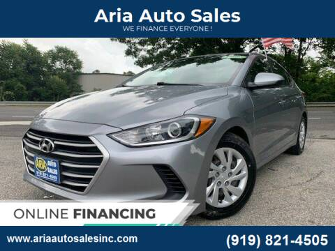 2017 Hyundai Elantra for sale at ARIA  AUTO  SALES in Raleigh NC
