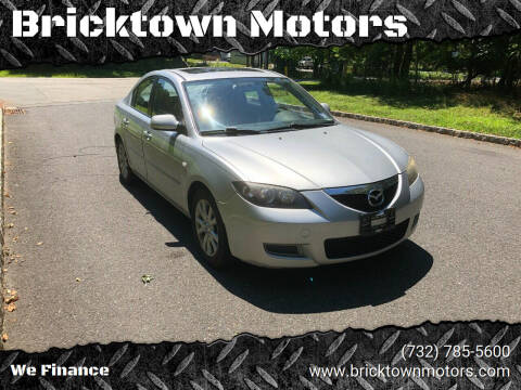 2007 Mazda MAZDA3 for sale at Bricktown Motors in Brick NJ