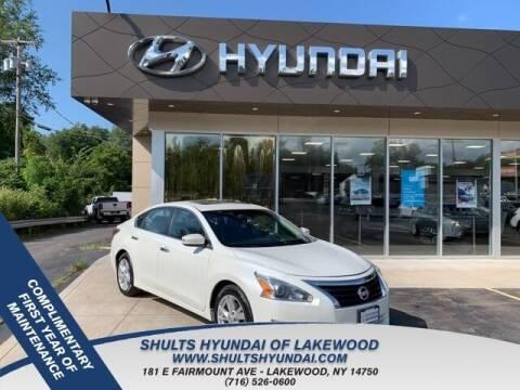 2013 Nissan Altima for sale at Shults Hyundai in Lakewood NY
