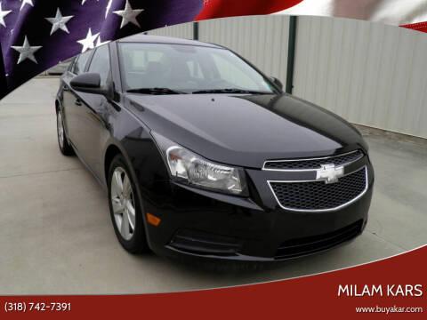 2014 Chevrolet Cruze for sale at MILAM KARS in Bossier City LA