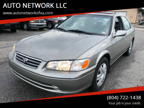 2000 Toyota Camry for sale at AUTO NETWORK LLC in Petersburg VA