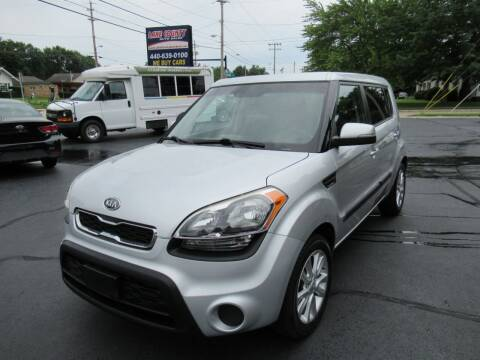 2012 Kia Soul for sale at Lake County Auto Sales in Painesville OH