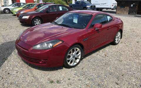 2008 Hyundai Tiburon for sale at Simon Automotive in East Palestine OH