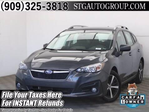 2019 Subaru Impreza for sale at STG Auto Group in Montclair CA