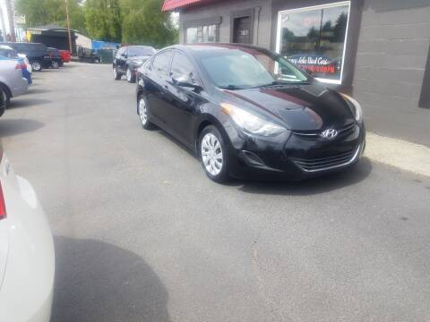 2013 Hyundai Elantra for sale at Bonney Lake Used Cars in Puyallup WA