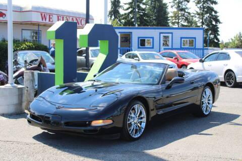 2002 Chevrolet Corvette for sale at BAYSIDE AUTO SALES in Everett WA