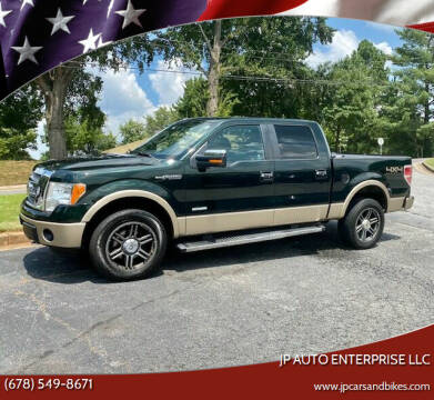 2012 Ford F-150 for sale at JP Auto Enterprise LLC in Duluth GA