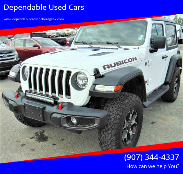 2018 Jeep Wrangler for sale at Dependable Used Cars in Anchorage AK