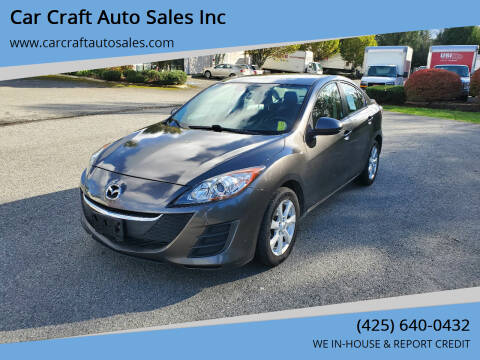 2010 Mazda MAZDA3 for sale at Car Craft Auto Sales Inc in Lynnwood WA
