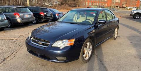 2007 Subaru Legacy for sale at Manchester Auto Sales in Manchester CT