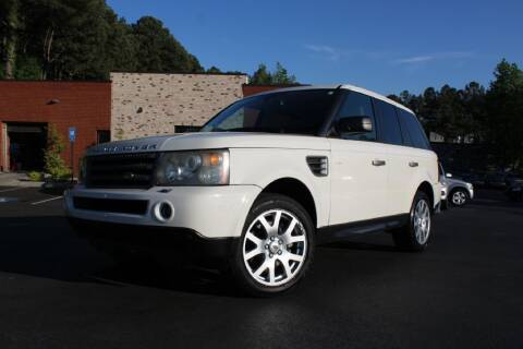 2009 Land Rover Range Rover Sport for sale at Atlanta Unique Auto Sales in Norcross GA