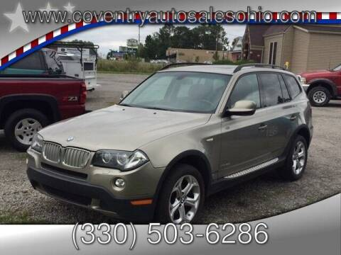 2010 BMW X3 for sale at Coventry Auto Sales in Youngstown OH