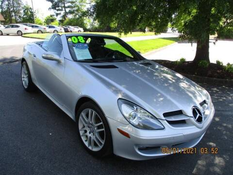 2008 Mercedes-Benz SLK for sale at Euro Asian Cars in Knoxville TN
