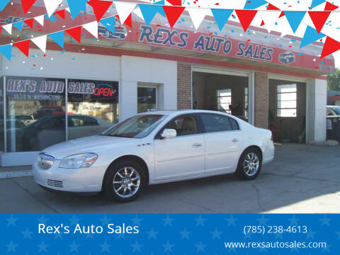 2007 Buick Lucerne for sale at Rex's Auto Sales in Junction City KS