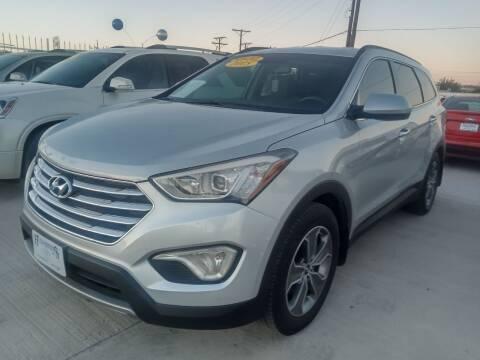 2015 Hyundai Santa Fe for sale at Hugo Motors INC in El Paso TX