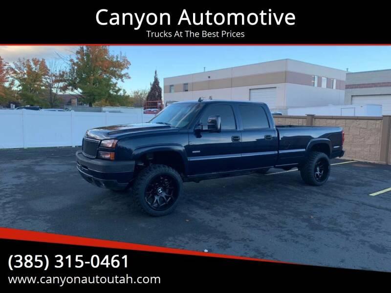 2006 Chevrolet Silverado 2500HD for sale at Hoskins Trucks in Bountiful UT