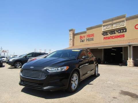 2014 Ford Fusion for sale at Import Motors in Bethany OK