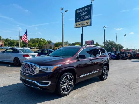 2018 GMC Acadia for sale at Michaels Autos in Orlando FL