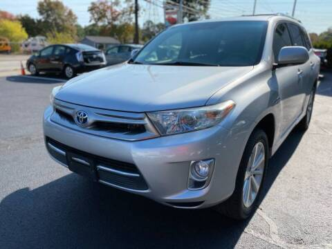 2013 Toyota Highlander Hybrid for sale at 1A Auto Sales in Walpole MA