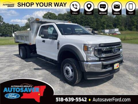 2021 Ford F-450 Super Duty for sale at Autosaver Ford in Comstock NY