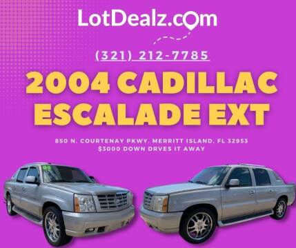 2004 Cadillac Escalade EXT for sale at ROCKLEDGE in Rockledge FL