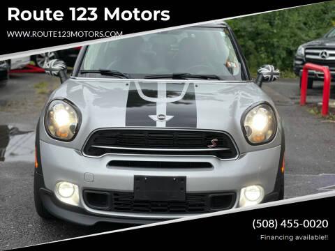 2016 MINI Countryman for sale at Route 123 Motors in Norton MA