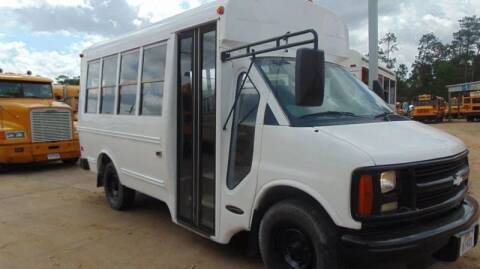 2001 Chevrolet Girardin for sale at Interstate Bus Sales Inc. in Wallisville TX