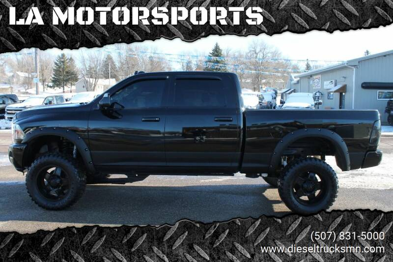 2014 RAM Ram Pickup 2500 for sale at LA MOTORSPORTS in Windom MN