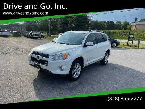 2010 Toyota RAV4 for sale at Drive and Go, Inc. in Hickory NC