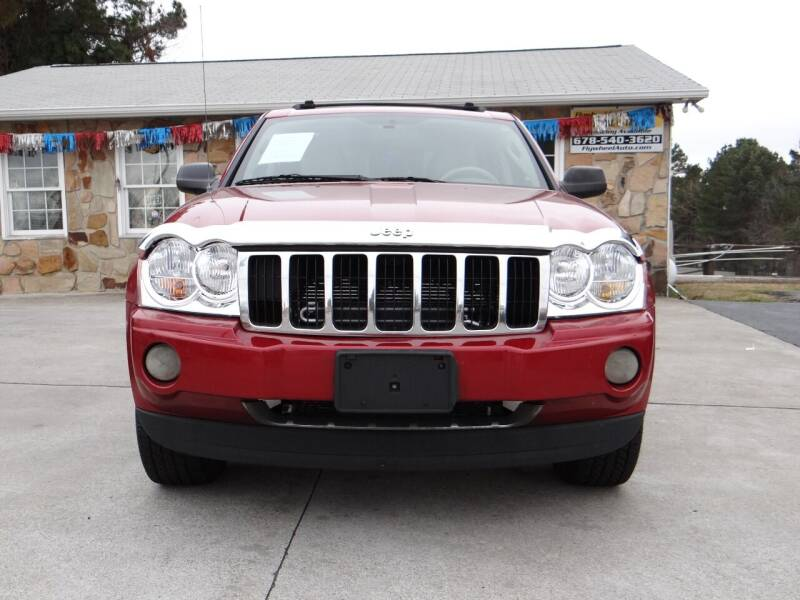 2005 Jeep Grand Cherokee for sale at Flywheel Auto Sales Inc in Woodstock GA