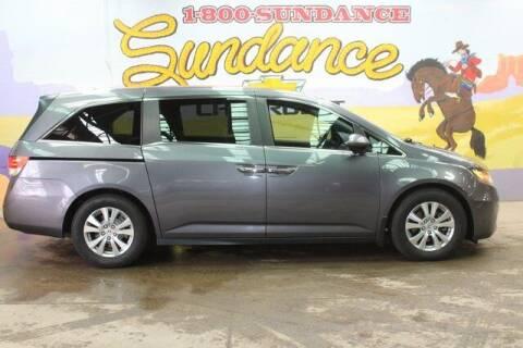2016 Honda Odyssey for sale at Sundance Chevrolet in Grand Ledge MI
