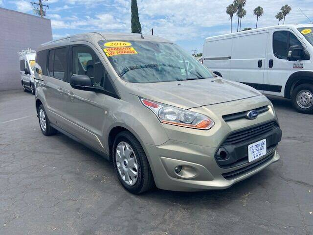 2016 Ford Transit Connect Wagon for sale at Auto Wholesale Company in Santa Ana CA