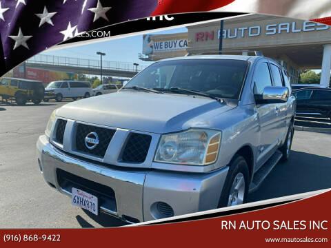 2005 Nissan Armada for sale at RN Auto Sales Inc in Sacramento CA