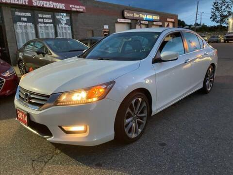 2014 Honda Accord for sale at AutoCredit SuperStore in Lowell MA