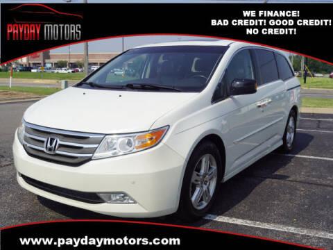 2012 Honda Odyssey for sale at Payday Motors in Wichita KS