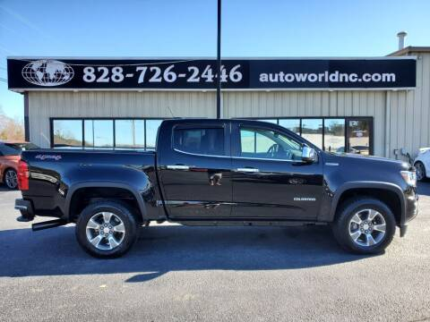 2017 Chevrolet Colorado for sale at AutoWorld of Lenoir in Lenoir NC
