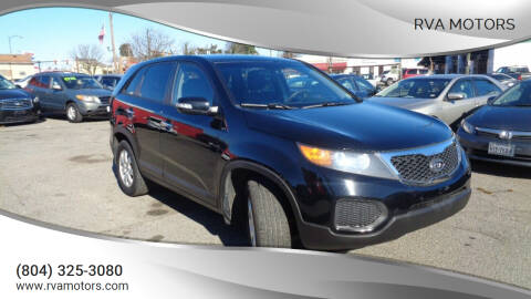 2013 Kia Sorento for sale at RVA MOTORS in Richmond VA