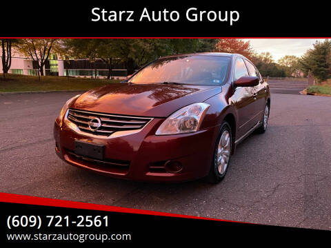 2012 Nissan Altima for sale at Starz Auto Group in Delran NJ